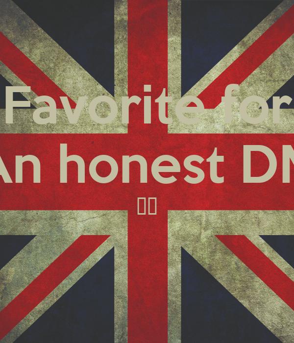 Favorite for An honest DM 😈✨