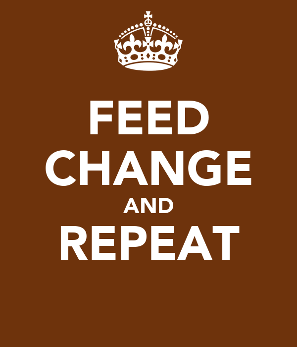 FEED CHANGE AND REPEAT
