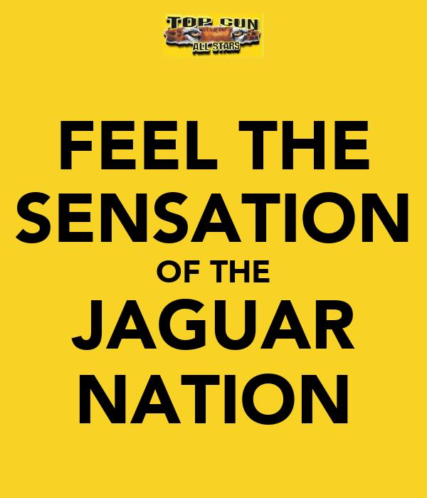 FEEL THE SENSATION OF THE JAGUAR NATION