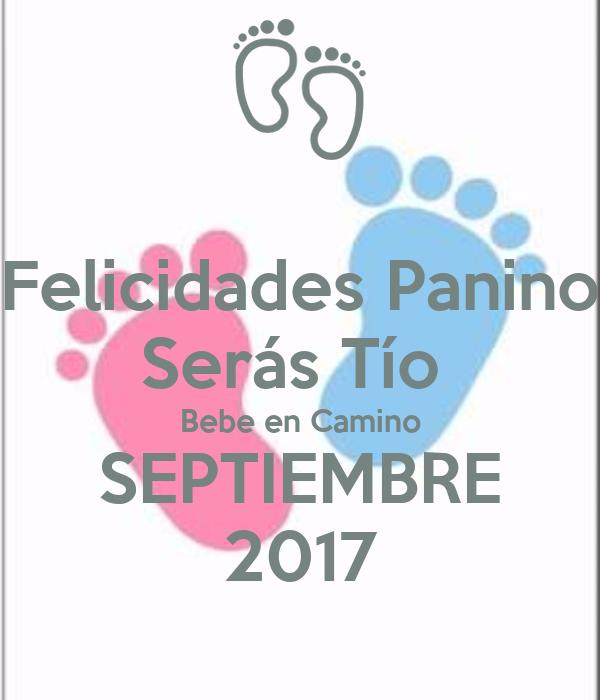 Felicidades panino ser s t o bebe en camino septiembre - Bebe en camino ...