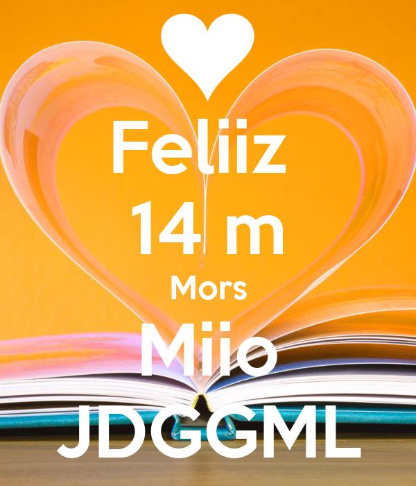 Feliiz  14 m Mors Miio JDGGML