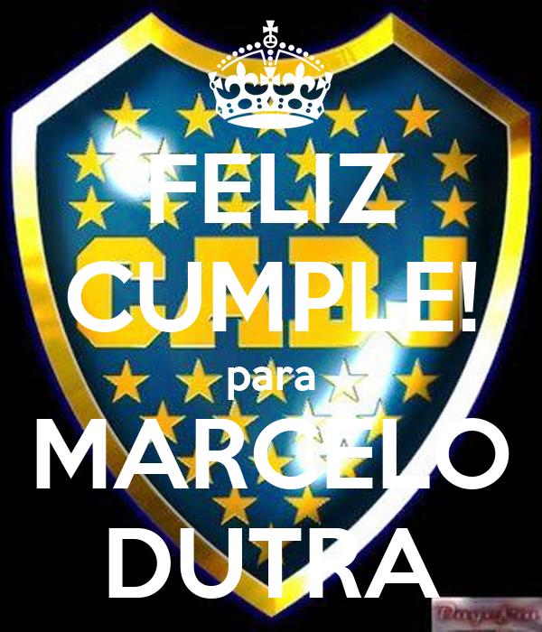 FELIZ CUMPLE! para MARCELO DUTRA
