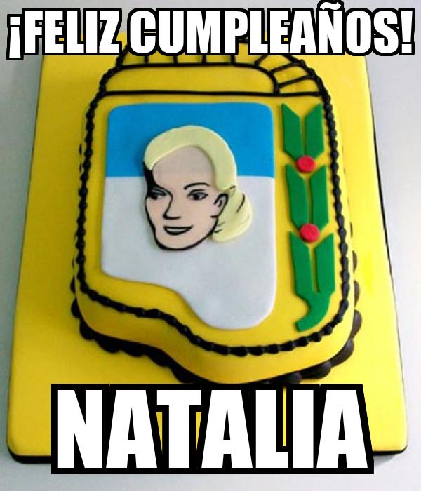 ¡FELIZ CUMPLEAÑOS! NATALIA