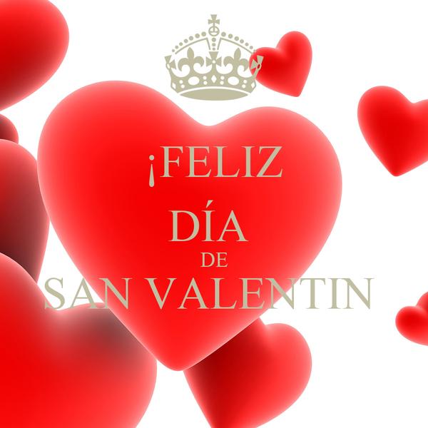 ¡FELIZ DÍA DE SAN VALENTIN