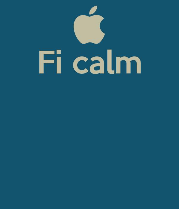 Fi calm