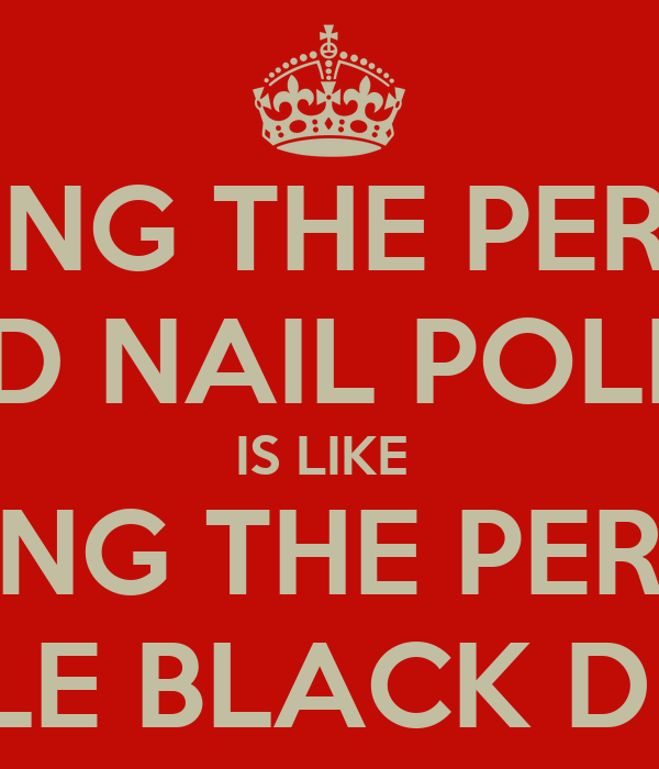 FINDING THE PERFECT RED NAIL POLISH IS LIKE  HAVING THE PERFECT LITTLE BLACK DRESS