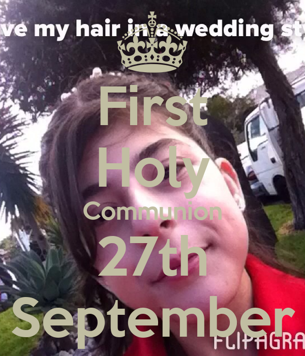 First Holy Communion 27th September