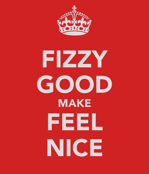 FIZZY GOOD MAKE FEEL NICE