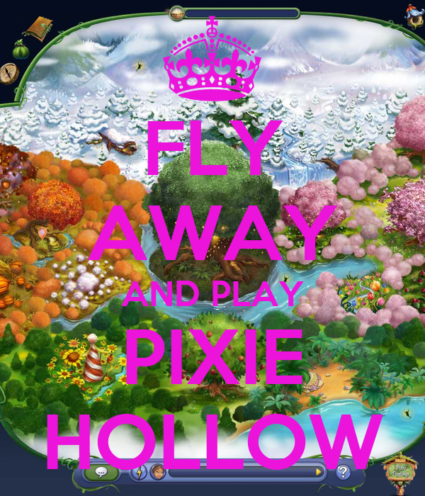 FLY AWAY AND PLAY PIXIE HOLLOW