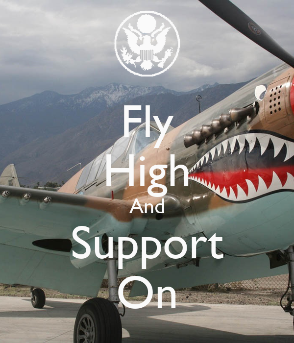 Fly High And Support On