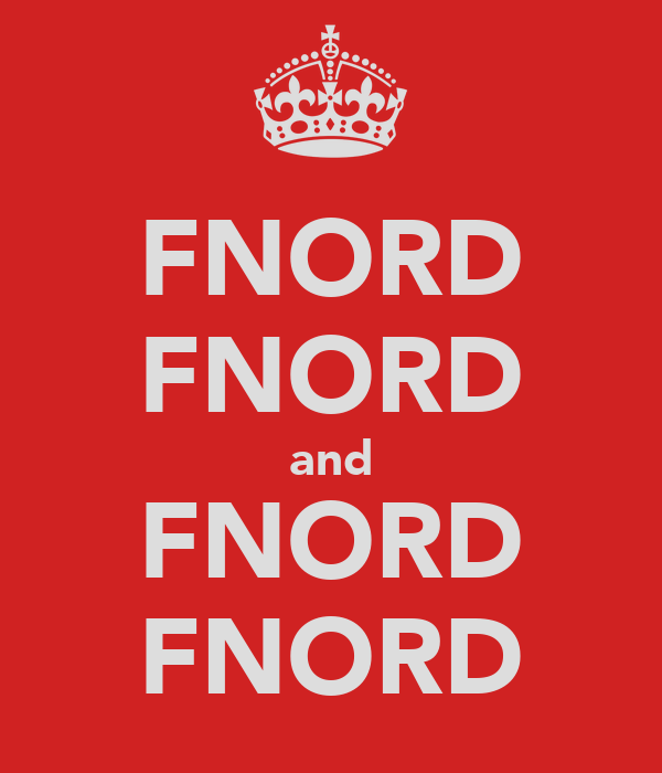 FNORD FNORD and FNORD FNORD