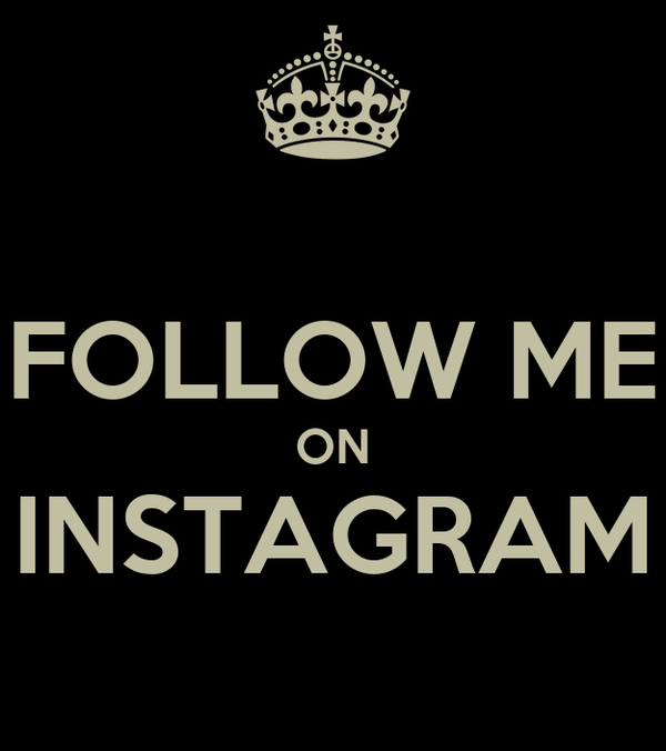 follow me on instagram poster romulo keep calm o matic