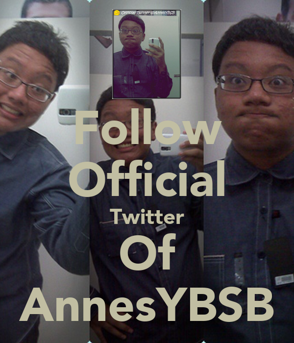 Follow Official Twitter Of AnnesYBSB