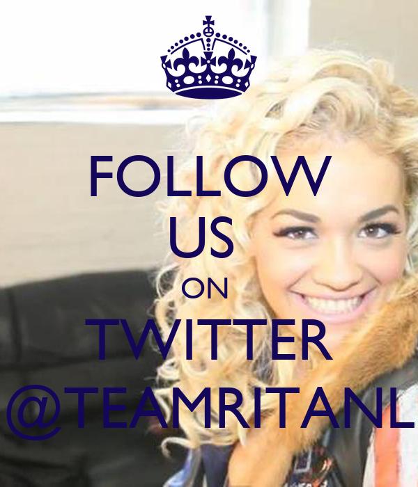 FOLLOW US  ON  TWITTER @TEAMRITANL