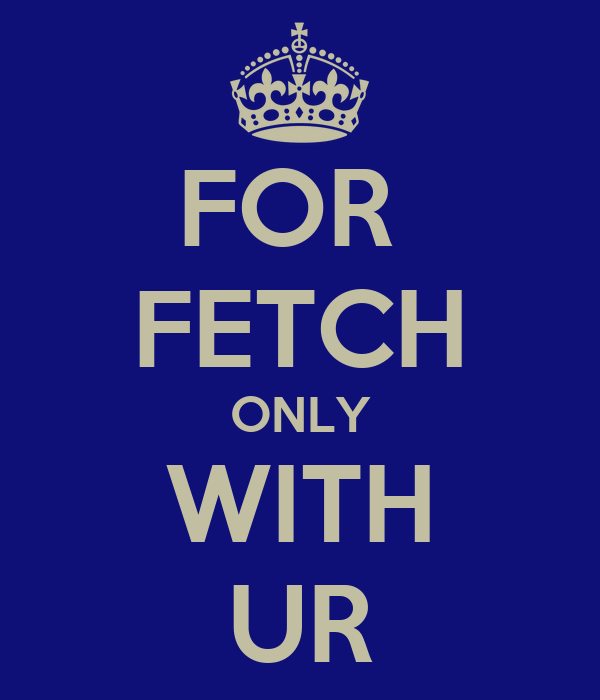 FOR  FETCH ONLY WITH UR