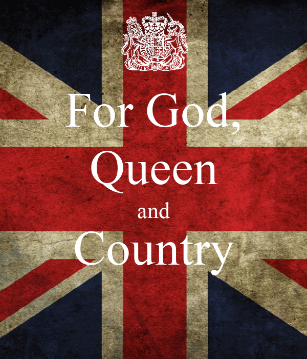 For God, Queen and Country