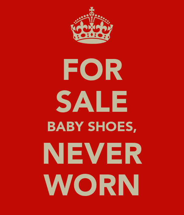 FOR SALE BABY SHOES, NEVER WORN
