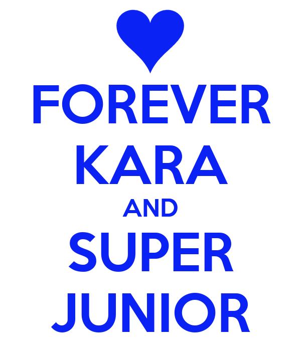 FOREVER KARA AND SUPER JUNIOR
