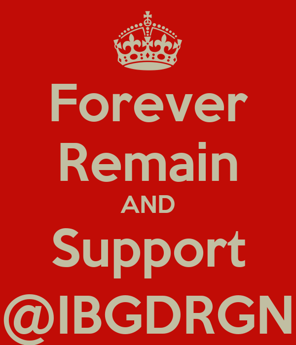 Forever Remain AND Support @IBGDRGN