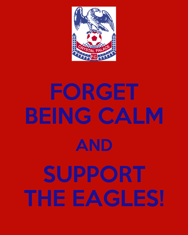 FORGET BEING CALM AND SUPPORT THE EAGLES!