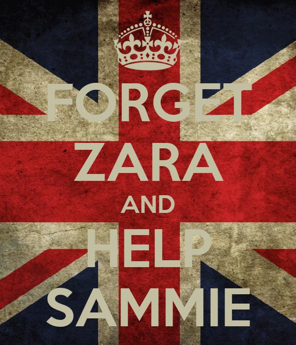 FORGET ZARA AND HELP SAMMIE
