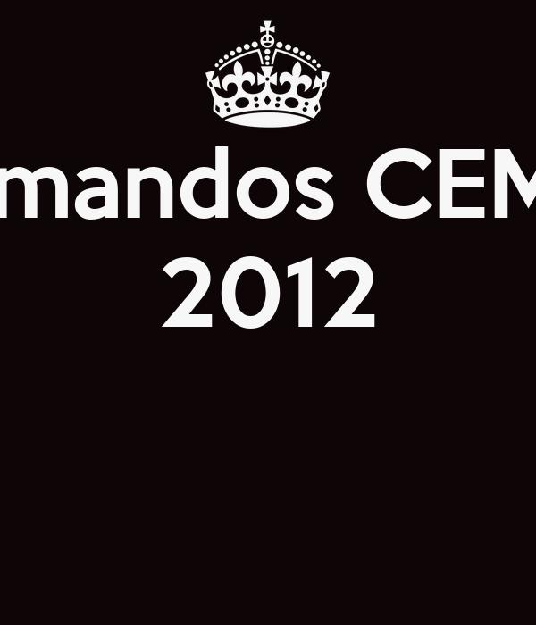 Formandos CEM 01 2012