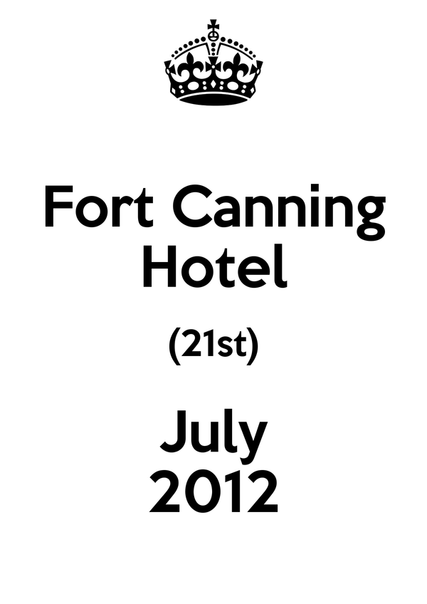 Fort Canning Hotel (21st) July 2012
