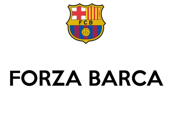 FORZA BARCA