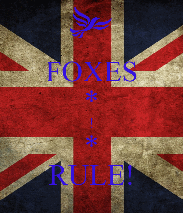 FOXES * ! * RULE!