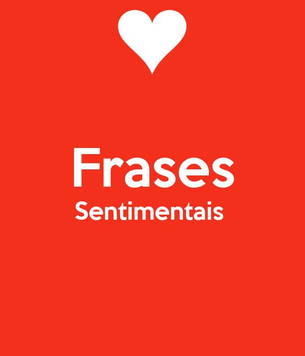 Frases Sentimentais