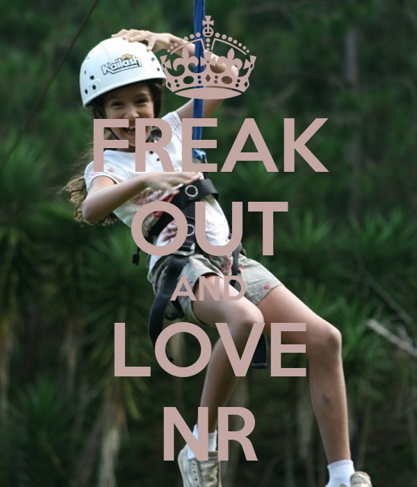 FREAK OUT AND LOVE NR