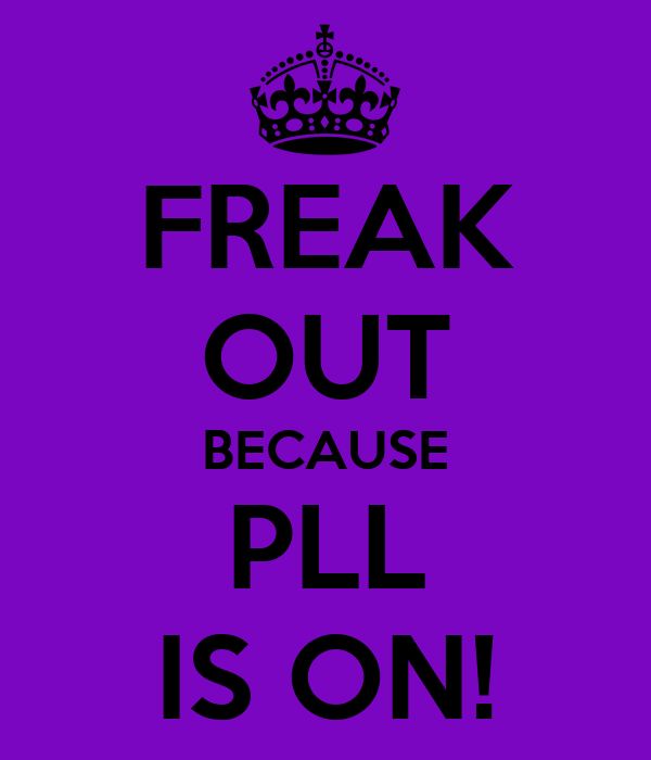 FREAK OUT BECAUSE PLL IS ON!