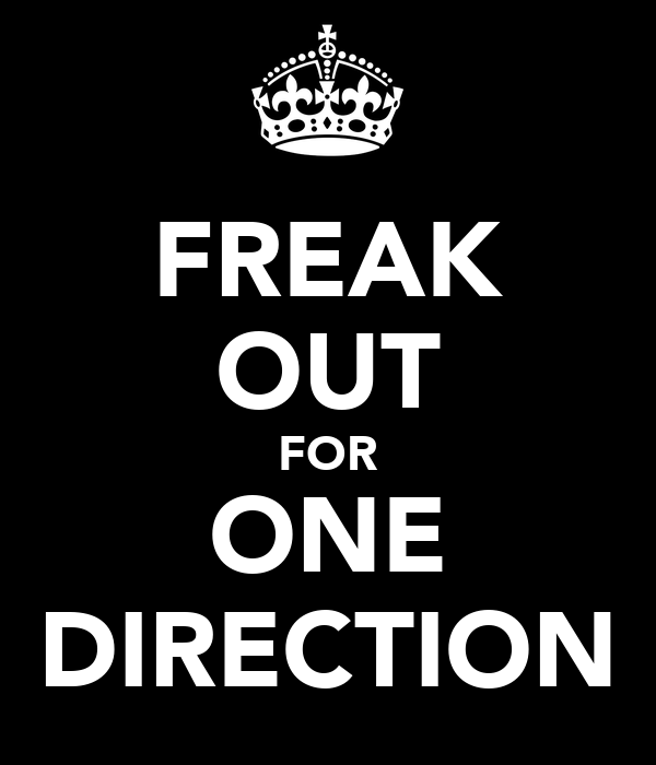 FREAK OUT FOR ONE DIRECTION