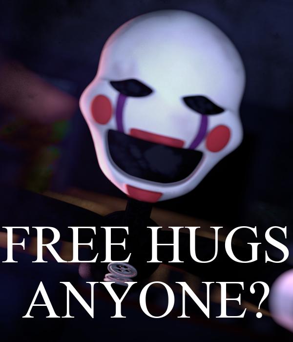 FREE HUGS ANYONE?