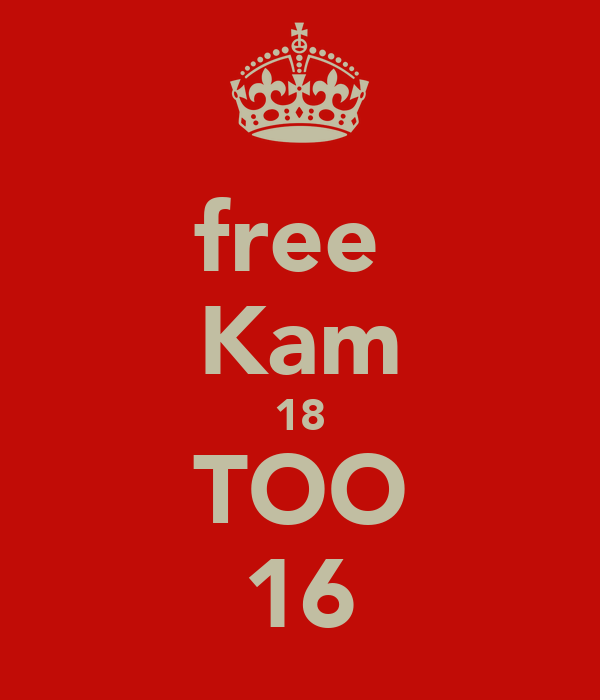 free  Kam 18 TOO 16