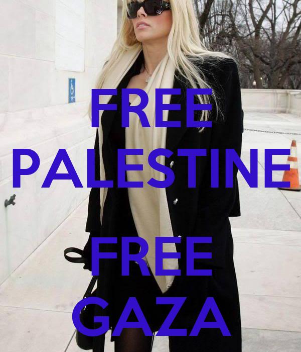 FREE PALESTINE  FREE GAZA
