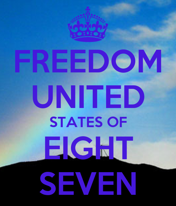 FREEDOM UNITED STATES OF EIGHT SEVEN
