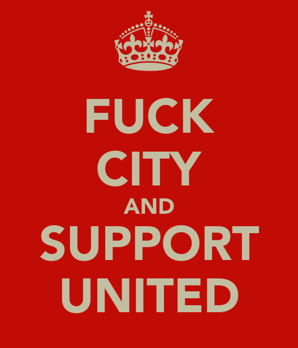 FUCK CITY AND SUPPORT UNITED