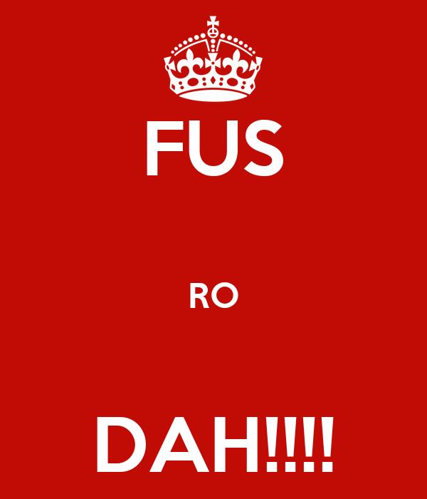FUS  RO  DAH!!!!