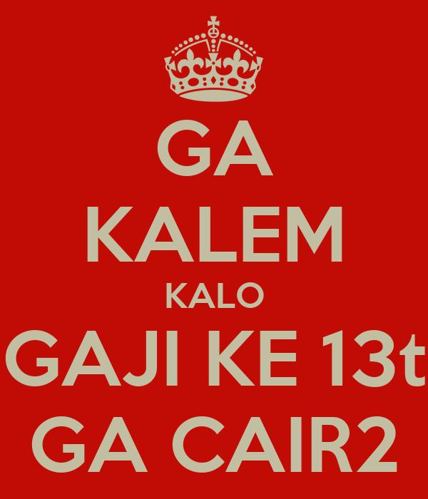 GA KALEM KALO GAJI KE 13t GA CAIR2