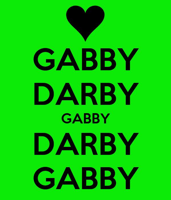 GABBY DARBY GABBY DARBY GABBY