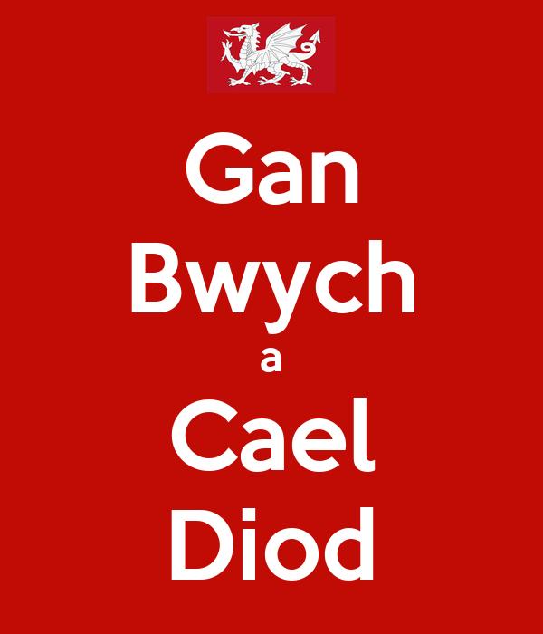 Gan Bwych a Cael Diod