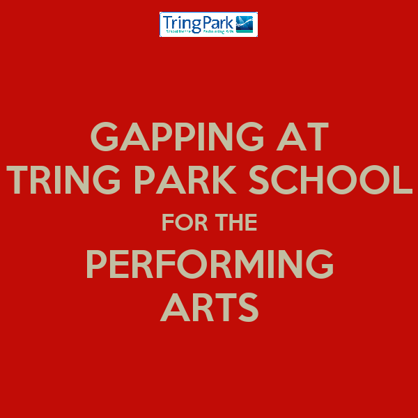 GAPPING AT TRING PARK SCHOOL FOR THE PERFORMING ARTS