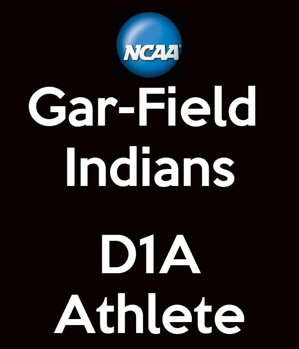 Gar-Field  Indians  D1A Athlete