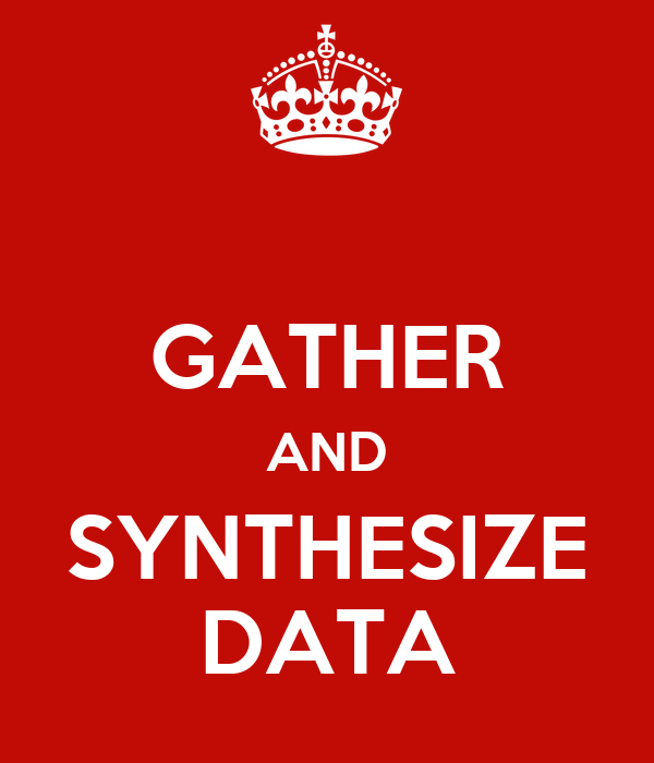 GATHER AND SYNTHESIZE DATA