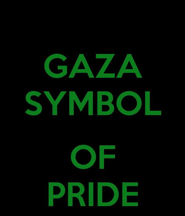 Gaza Symbol Of Pride Poster Ihab Keep Calm O Matic
