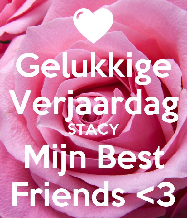 Gelukkige Verjaardag Stacy Mijn Best Friends 3 Poster Marilin