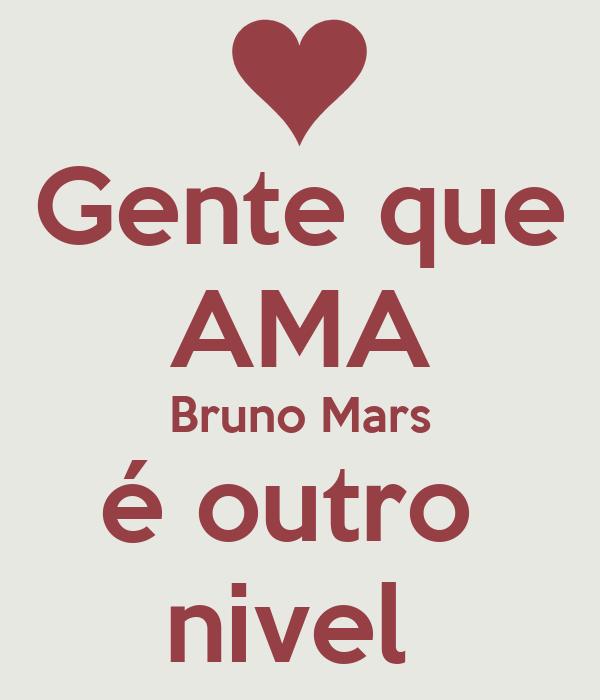 Gente que AMA Bruno Mars é outro  nivel