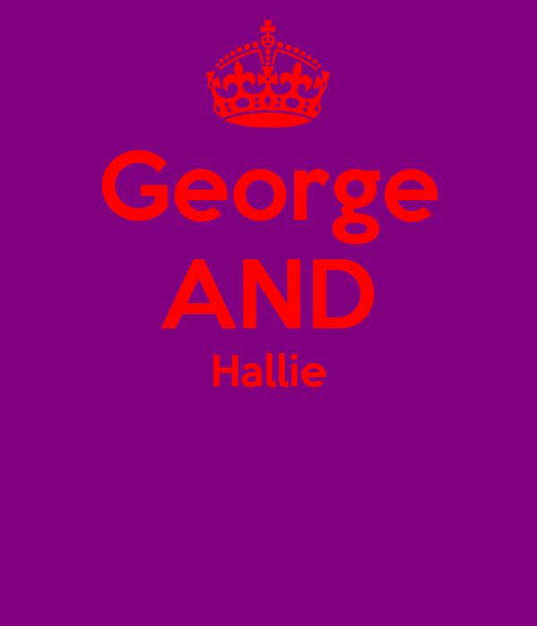 George AND Hallie