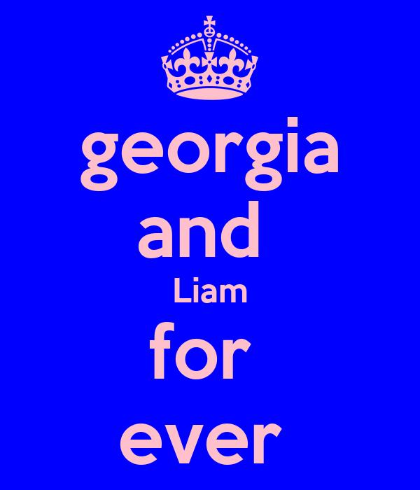 georgia and  Liam for  ever